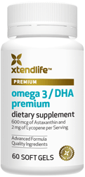 Image for Omega 3 DHA Fish Oil Premium Bottle