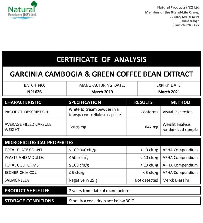 COA-Garcinia