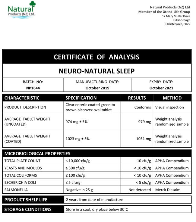 COA-NN-Sleep