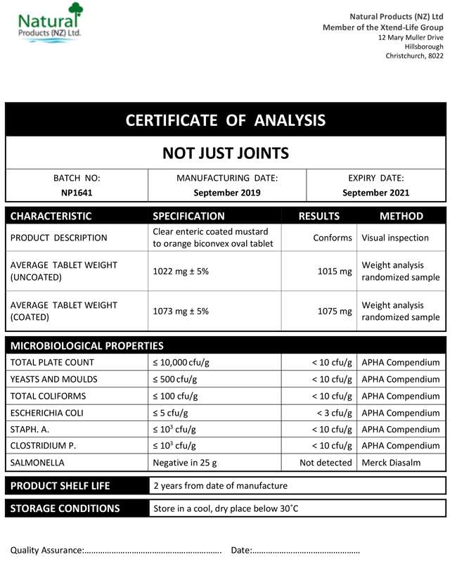 COA-Not-Just-Joints
