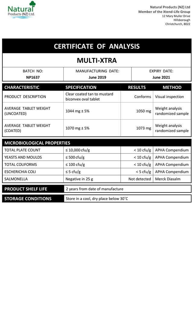 CoA-Multi-Xtra