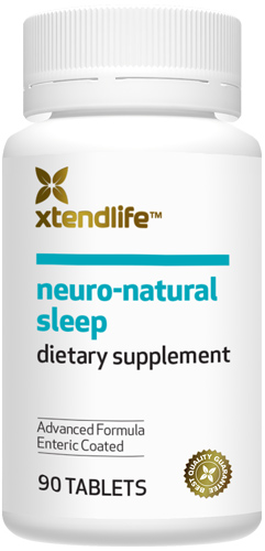 Natural relief from sleeplessness or insomnia and anxiety