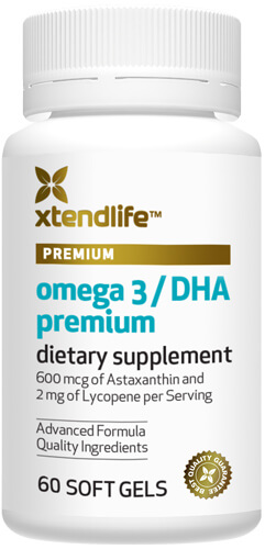Premium DHA fish oil pills