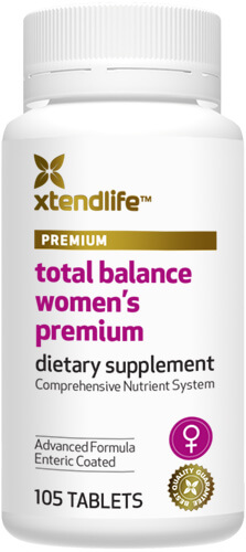 Total Balance Women's Premium Formula multivitamin & multimineral nutritional supplement
