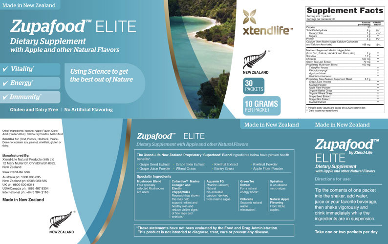 zupafood elite dietary supplement