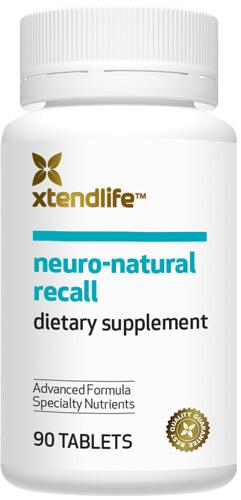 Neuro Natural Recall Bottle