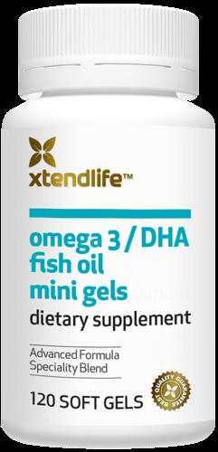 Omega 3/DHA Mini Gels